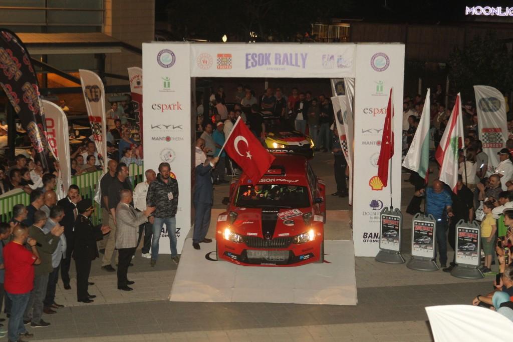 Esok Rally 2019 Start Aldı